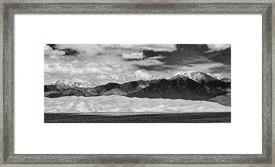 The Great Sand Dunes Panorama 2 Framed Print by James BO  Insogna