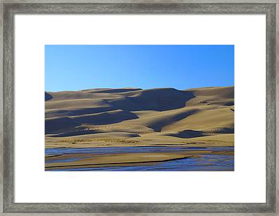 The Great Sand Dunes Up Close Framed Print
