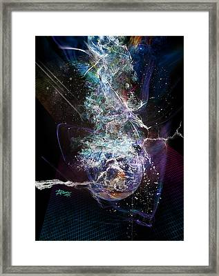 The Great Shift Of Humanity Framed Print