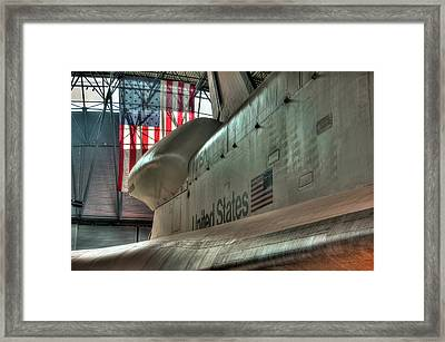 The Great Space Race Framed Print