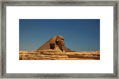 The Great Sphinx Of Giza 2 Framed Print