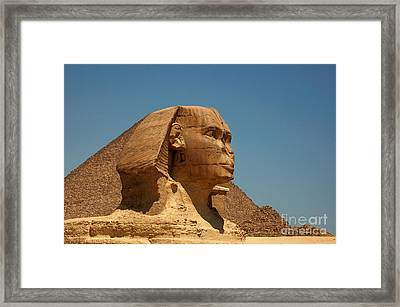 The Great Sphinx Of Giza Framed Print