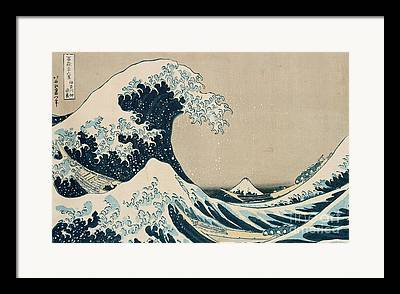 Waves Art Framed Prints