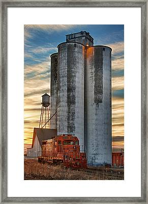 The Great Western Sugar Mill Longmont Colorado Framed Print by James BO  Insogna