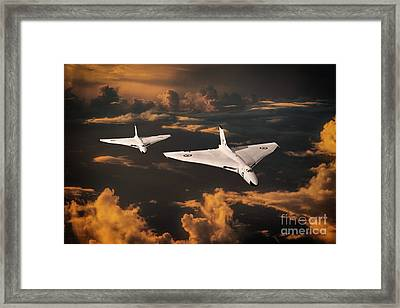 The Great White Bombers Framed Print
