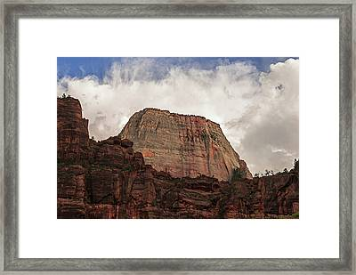 The Great White Throne Framed Print by Loree Johnson