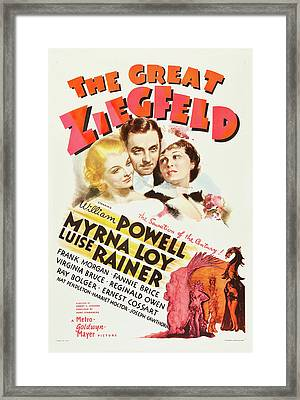 The Great Ziegfeld 1936 Framed Print