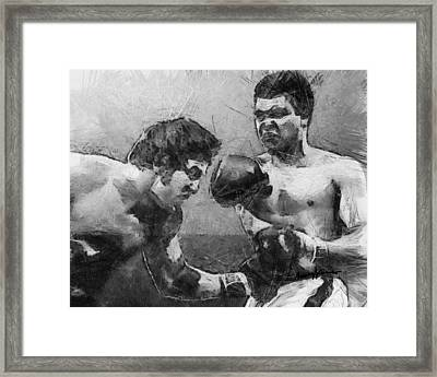 The Greatest Framed Print by Anthony Caruso