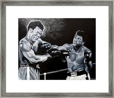 The Greatest - Muhammad Ali Framed Print by Kay Ashton