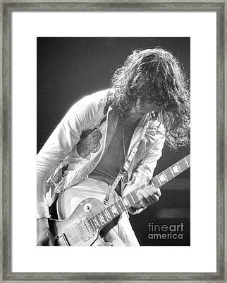 The Greatest Slinger Framed Print by Steven Macanka