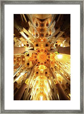 The Greatness Of God And Triumph Of Gaudi4 Framed Print