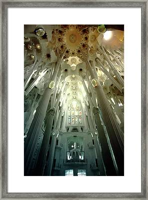 The Greatness Of God And Triumph Of Gaudi5 Framed Print