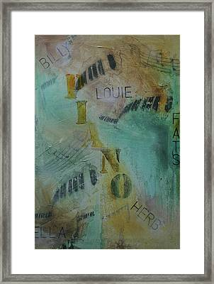 The Greats Framed Print by Robin Lee