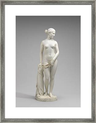 The Greek Slave Framed Print by Hiram Powers