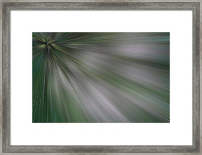 The Green Array Framed Print