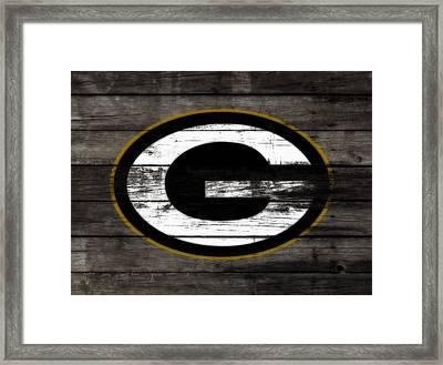 The Green Bay Packers 3b    Framed Print