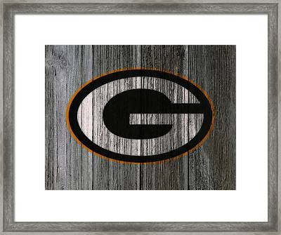 The Green Bay Packers 7f    Framed Print