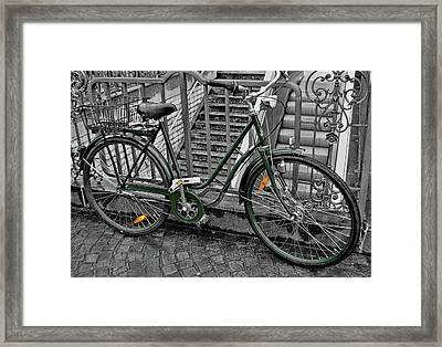 The Green City Framed Print by JAMART Photography