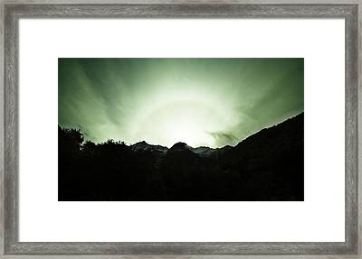 The Green Dream Framed Print by Odille Esmonde-Morgan