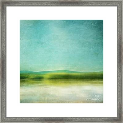 The Green Haze Framed Print