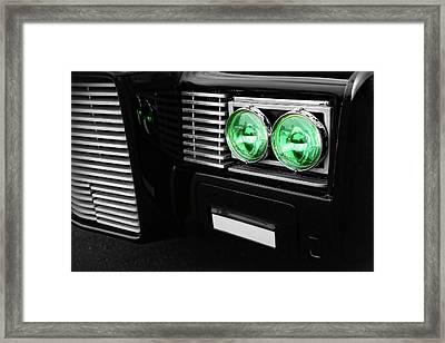 The Green Hornet Black Beauty Clone Car Framed Print by Gordon Dean II