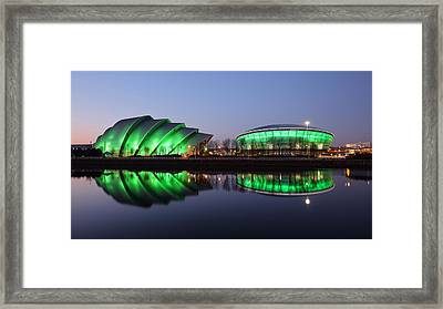 Framed Print featuring the photograph The Green Hour by Grant Glendinning