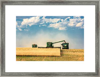 The Green Machines Framed Print by Todd Klassy