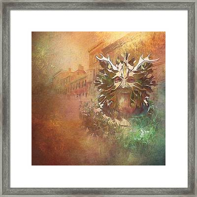 The Green Man Cometh Framed Print