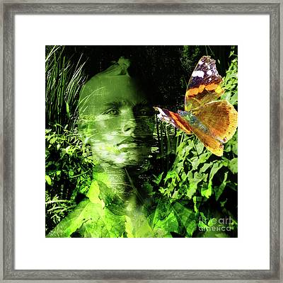 Framed Print featuring the photograph The Green Man by LemonArt Photography