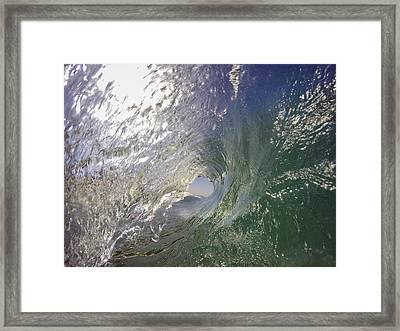 The Green Room Framed Print by Sean Foster