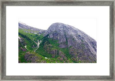 The Greene Hills In Alaska Framed Print
