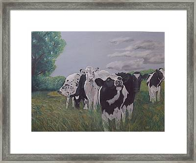 The Greeter Framed Print by Robert Tower