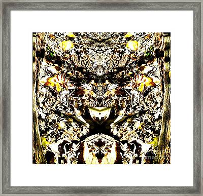 The Gremlin In The Woods Framed Print