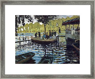 The Grenouillere Framed Print by Monet