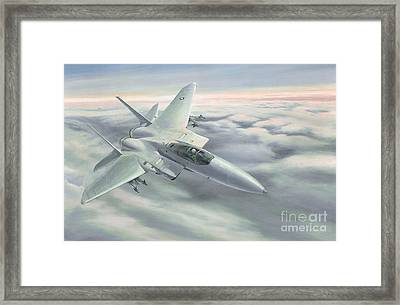 The Grey Ghost Framed Print by Michael Swanson
