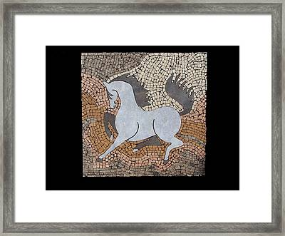 The Grey In Profile Framed Print by Katherine Sutcliffe