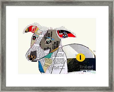 The Greyhound Framed Print