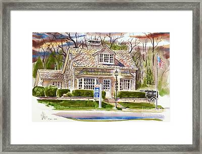 The Greystone Inn In Brigadoon Framed Print by Kip DeVore