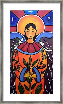 The Grieving Angel Framed Print