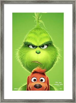 The Grinch 2018 A Framed Print