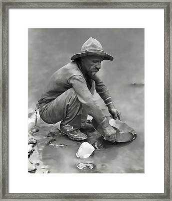 The Grizzled Prospector Framed Print by Daniel Hagerman