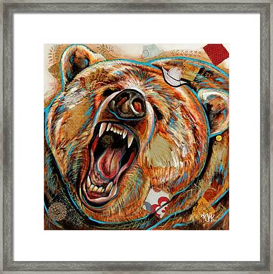 The Grizzly Bear Framed Print