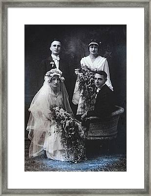 The Groom Pines For The Pretty One Framed Print