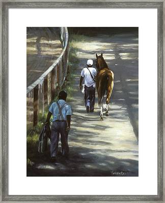 The Grooms Framed Print