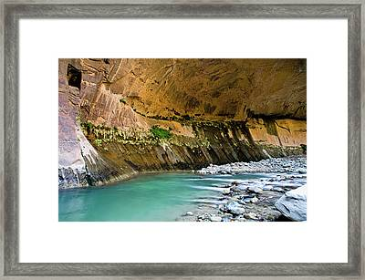 The Grotto Framed Print