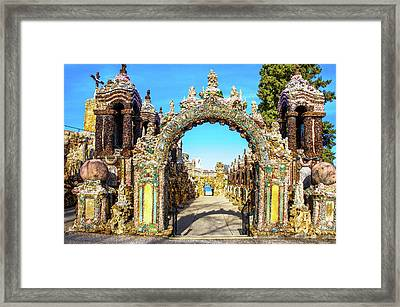 The Grotto Of The Redemption  Framed Print by Art Spectrum