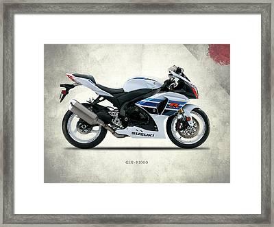 The Gsx-r1000 Framed Print by Mark Rogan