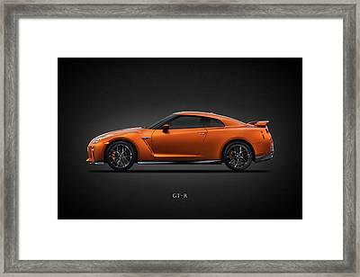 The Gt-r Framed Print by Mark Rogan