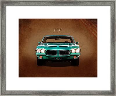 The Gto Framed Print by Mark Rogan