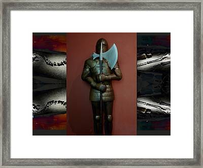 The Guard.  Framed Print
